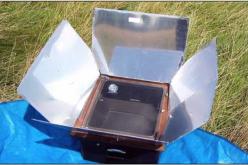 Αυτοσχέδιος ηλιακός φούρνος
